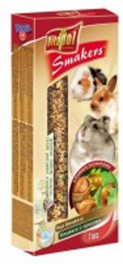 Vitapol knaagdierkracker noten 10 x 2 stuks