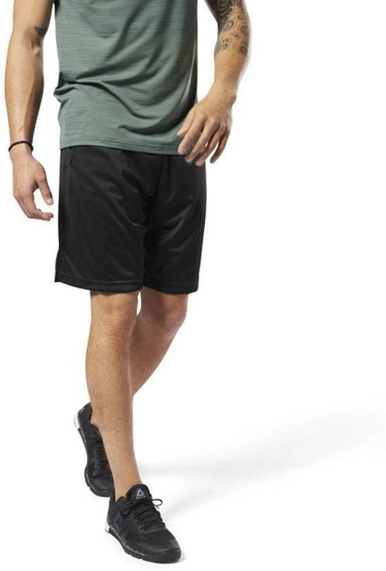 Reebok Speedwick Short Heren Zwart