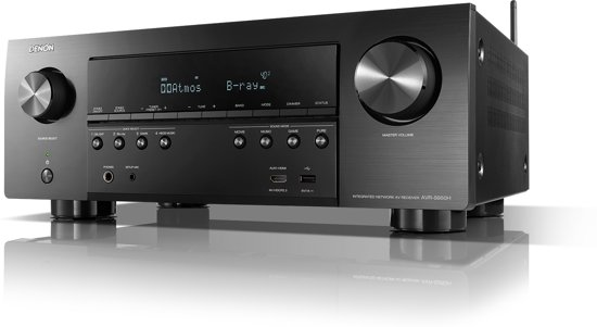 Denon AVR-S950H 7.2-kanaals AV-receiver met WiFi, Bluetooth, multiroom en  4K Ultra HD upscaling