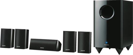 Onkyo, SKS-HT528 5.1-Channel Home Theatre Speaker System (Zwart)