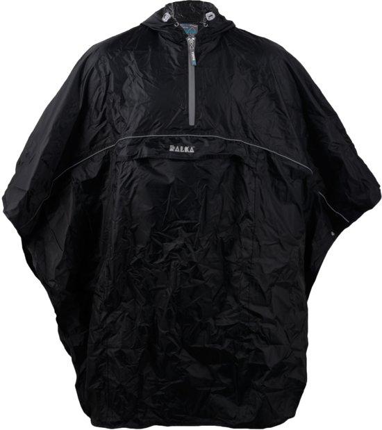 Ralka Poncho - Zwart - One size