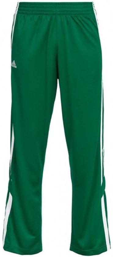 bol.com | Adidas Sportbroek Lang E Kit 2.0 Snap Heren Groen ...
