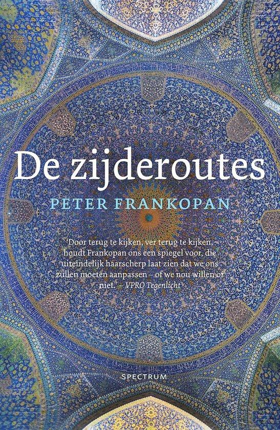 Boek cover De zijderoutes van Peter Frankopan (Paperback)