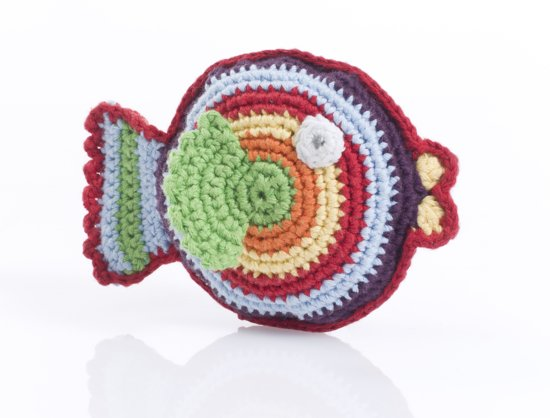 Pebble rammelaar - Vis