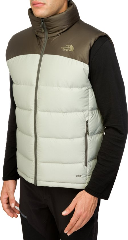 1b85e0a069 The North Face Nuptse 2 bodywarmer Heren olijf wit Maat L