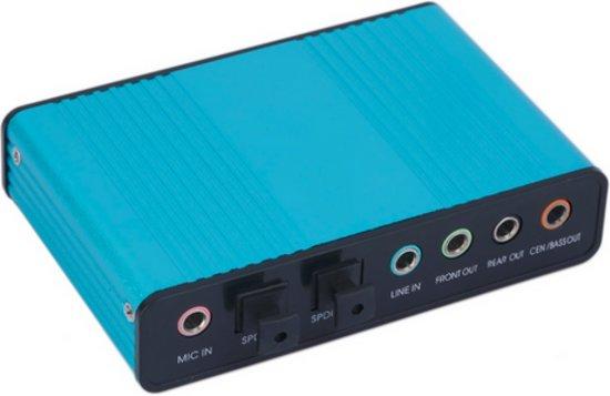 Verrassend bol.com | Externe geluidskaart voor PC 6 kanalen 5.1 Controller WO-48