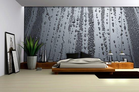 Fotobehang In Slaapkamer : Bol fotobehang papier modern slaapkamer grijs cm