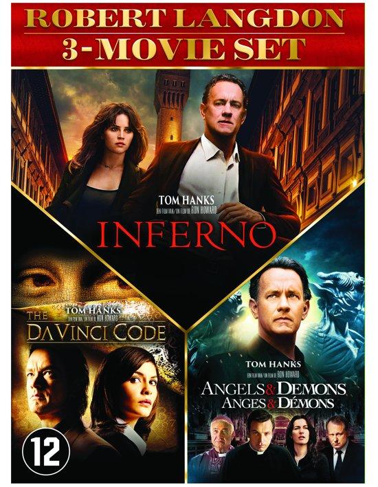 DVD cover van The Da Vinci Code / Angels & Demons / Inferno