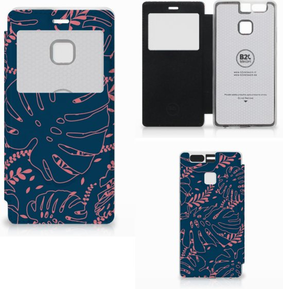 Huawei P9 Hoesje Palm Leaves