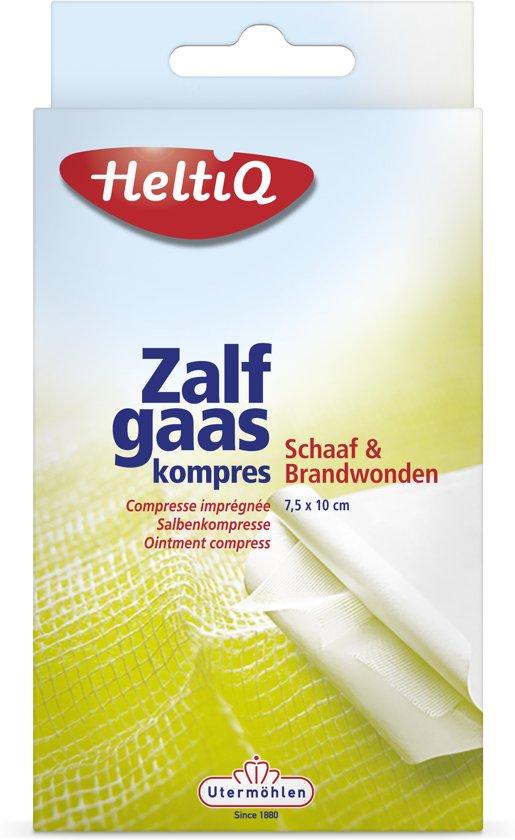 HeltiQ Zalfkompres - 7.5 x 10 cm - 10 stuks - Gaasjes