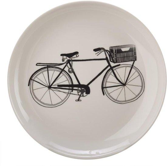 Pols Potten Bikes Borden Set van 6 Ã 20 cm