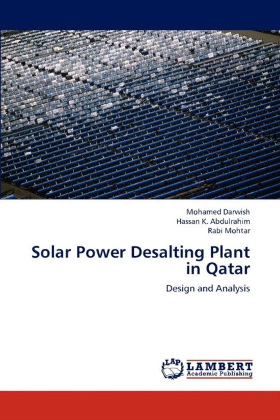 Solar Power Desalting Plant in Qatar