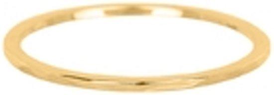 iXXXI Vulring wave goudkleurig 1mm - maat 17