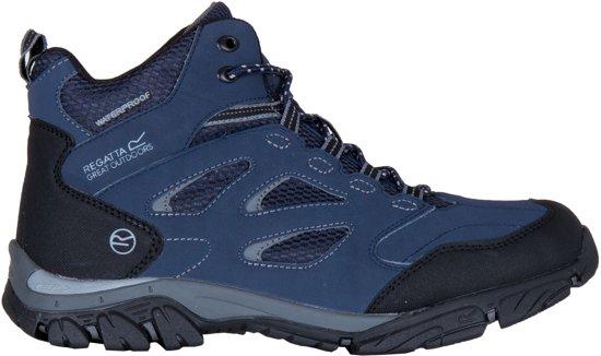 838e67a11c4 Regatta Holcombe IEP Mid Outdoorschoenen Heren Wandelschoenen - Maat 39 -  Mannen - blauw/grijs