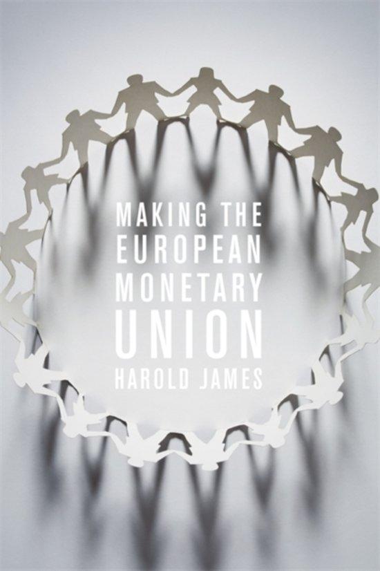 Making the european m0netary union