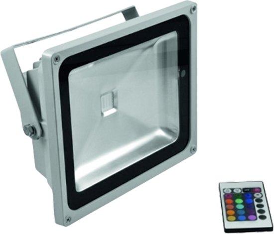Led floodlight / schijnwerper 30 Watt RGB gekleurd infrarood IR