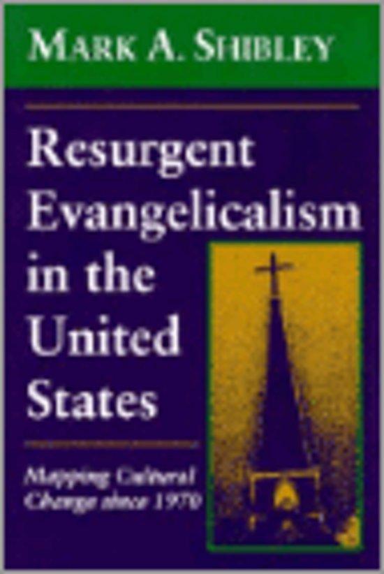 Resurgent Evangelicalism in the United States