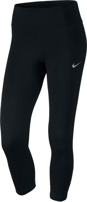 f21c1172ae6 Nike Power Essential Running Crop 3/4 Hardloopbroek - Maat S - Vrouwen -  zwart