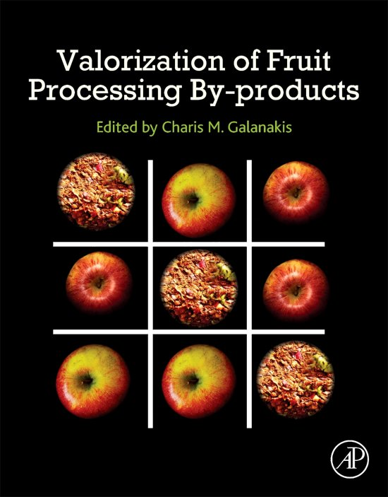 Boek cover Valorization of Fruit Processing By-products van Charis M. Galanakis (Paperback)