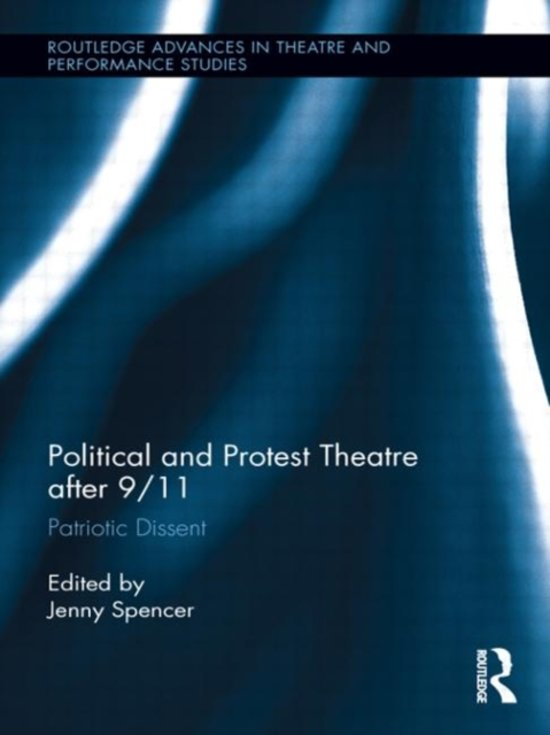 Boek cover Political and Protest Theatre after 9/11 van Spencer, Jenny (Hardcover)