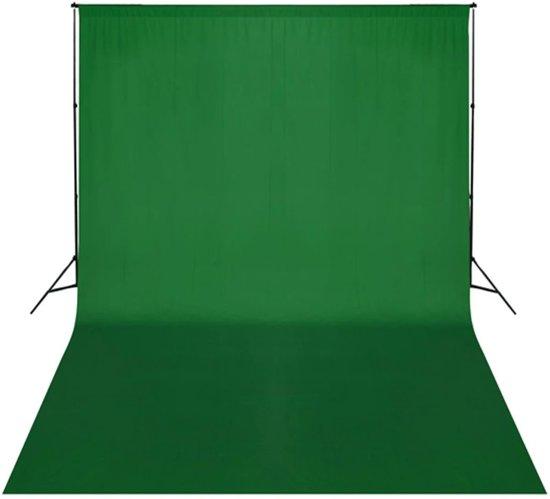 bol | achtergrondsysteem met green screen 300 x 300 cm.
