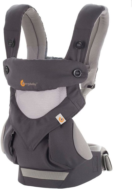 Ergobaby 360 Cool Air Carbon Grey Draagzak