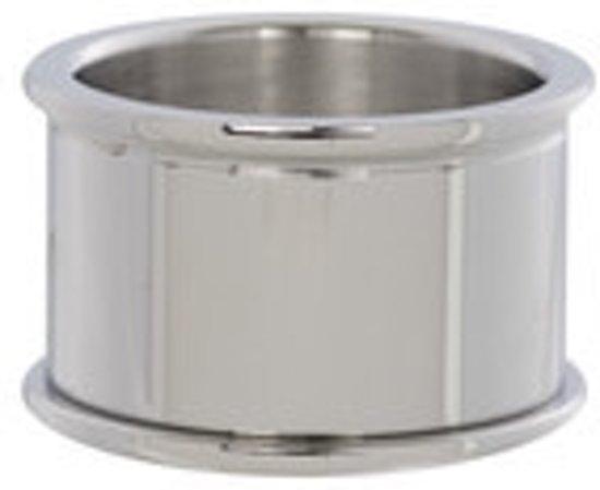IXXXI Basisring zilverkleurig 12mm - maat 20,5