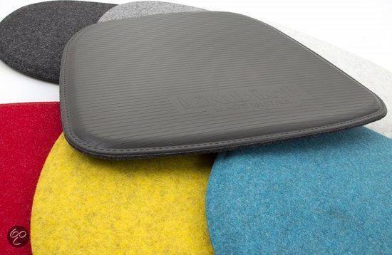 Vilt Kussen Eames : Bol kubikoff geel viltkussen seatpad new