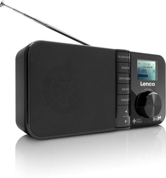 lenco pdr 03 dab radio met wekkerfunctie en. Black Bedroom Furniture Sets. Home Design Ideas