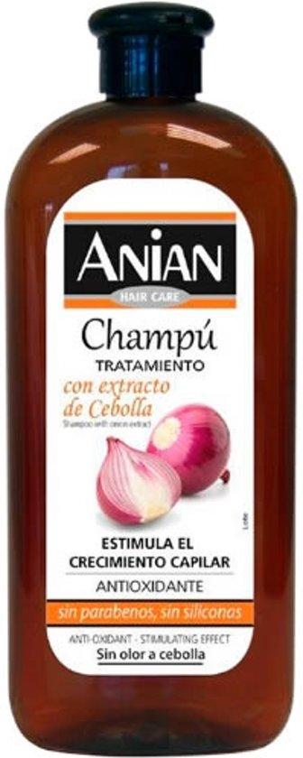 MULTI BUNDEL 5 stuks Anian Onion Anti Oxidant & Stimulating Effect Shampoo 400ml
