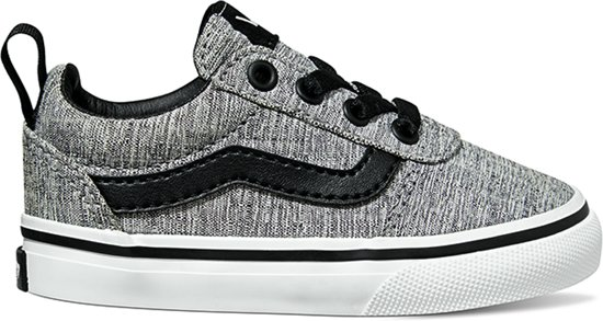 e28be3173d8 Vans Ward Slip-On Sneakers Kids Unisex - maat 24 - (Textile) Gray ...