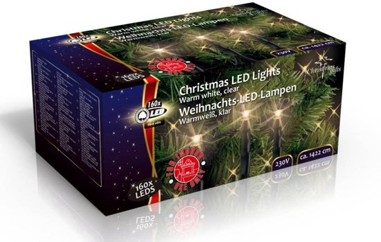 Bol Com Led Kerstverlichting Helder Warm Wit 160x Led Christmas Gifts