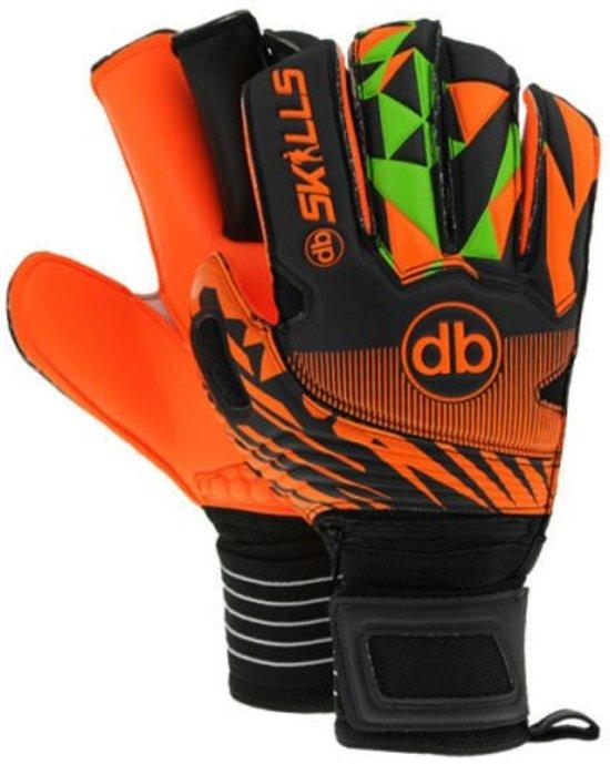 Keepershandschoenen fingersave db SKILLS Orange Maat 9