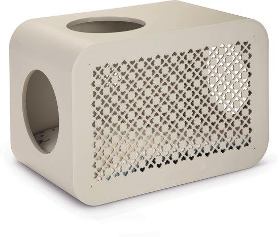 Beeztees Cat Cube Sleep Kattenmand - 49 x 29 x 32,6 cm - Grijs