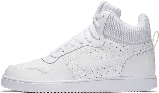 Maat Sneakers White white 5 Heren Mid white Borough Nike Court 38 1wOna