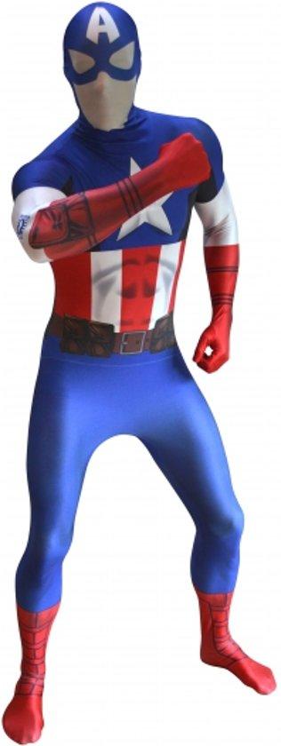 Originele morphsuit Captain America 2xl