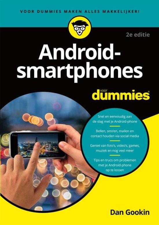 bolcom androidsmartphones voor dummies dan gookin