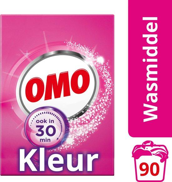 Omo Kleur Waspoeder - 90 wasbeurten - Wasmiddel