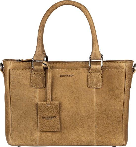 5a249989464 bol.com | BURKELY Antique Avery Handbag S - Handtas - Taupe