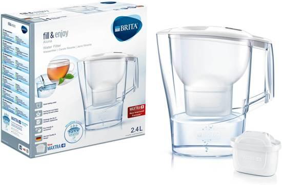 BRITA fill&enjoy Aluna Cool Waterfilterkan - White