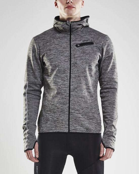 Hood Melange Sportjas Craft Jersey Jkt HerenBlack Eaze M wNX8n0OPk