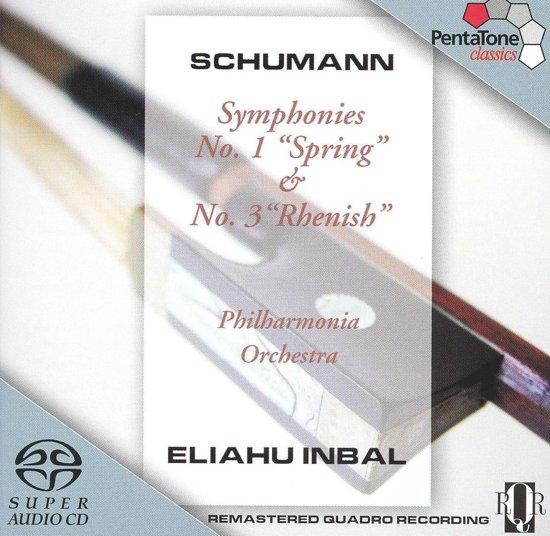 Schumann: Symphonies No. 1 & 3 - Inbal -SACD- (Hybride/Stereo/5.1)