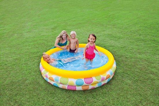 Intex Opblaasbaar Zwembad - 168x40 cm - Wild Geometry