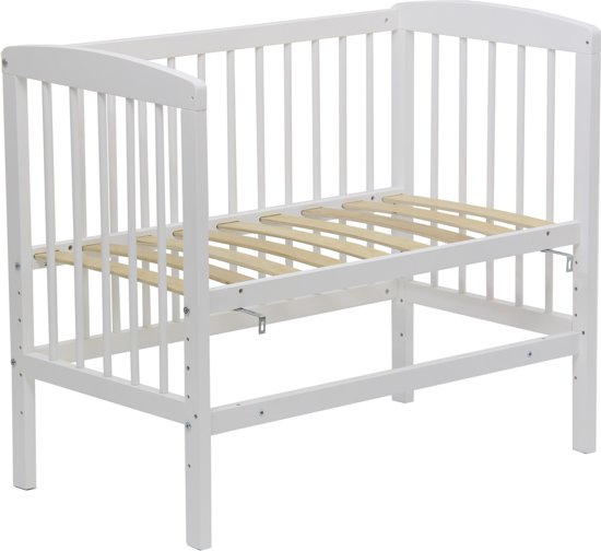 Polini Co-sleeper of Tweelingledikant Wit - 90x50