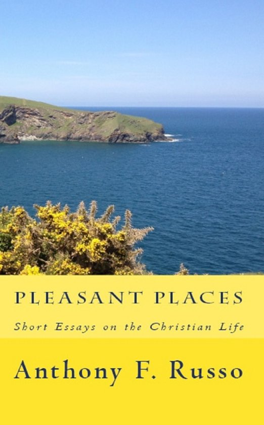 Boek cover Pleasant Places: Short Essays on the Christian Life van Anthony F. Russo (Onbekend)