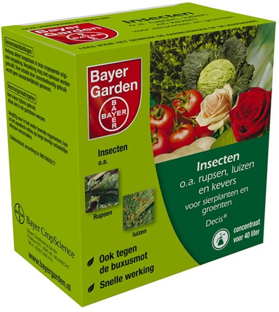 Bayer decis concentraat 20ml for Bayer garden