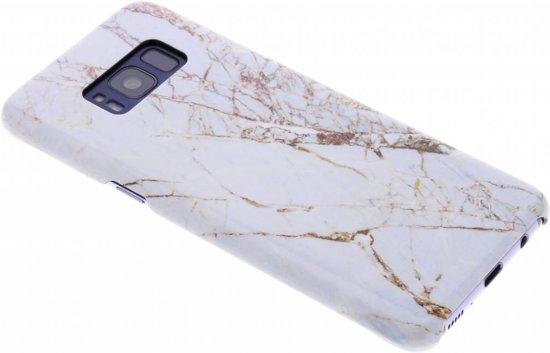 Passion De Marbre Blanc Étui Rigide Pour Samsung Galaxy S8 OaEczN