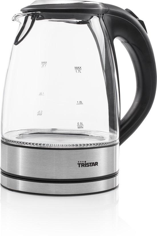 Tristar Waterkoker WK-3377 2200 W 1,7 L glas