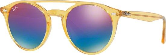 607053e305 Ray-Ban RB4279 6277B1 - zonnebril - Geel   Blauw-Violet Gradiënt Spiegel -