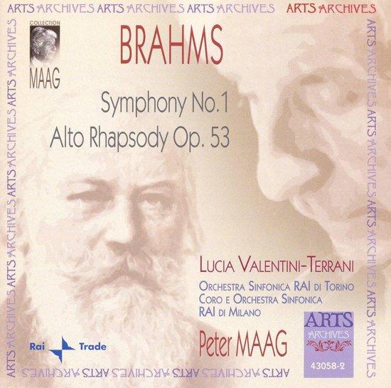 Brahms: Symphony No. 1 Op. 68, Alto-Rhapsody Op. 5